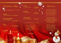 Weihnachtskonzert 2018 Programm